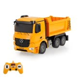 2.4G 1/26 RC Engineering Dump Truck RTR Radio Control Car LED Light