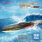 TFL Hobby 1126A Patron Saint 2.4G Racing Brushless Electric Water Cooling Speedboat Fibre Glass RC Boat