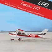 Original Sonicmodell 1400mm Wingspan Cessna 182 500 Class EPO Fixed-wing Airplane KIT Version RC Aircraft (No ESC, Motor, Servo )