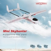 Original Sonicmodell Mini Skyhunter 1238mm Wingspan EPO FPV RC Fixed-wing Airplane PNP Version with ESC Motor Servo