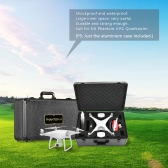 Portable Aluminium Hard Shell Carrying Case for DJI Phantom 4 RC Quadcopter