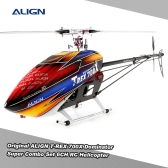 Original ALIGN T-REX 700X Dominator Super Combo Set 6CH Flybarless System RC Helicopter