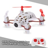 Original Hubsan H111C Nano Q4 Plus RTF RC Quadcopter Drone UAV with 480P Camera
