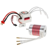 SURPASS HOBBY Platinum Set Waterproof 3650 3900KV Brushless Motor with 60A ESC for 1/10 RC Car Truck