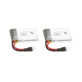 2pcs 3.7V 300mAh Li-po Battery for C-17 2.4G 2CH 373mm Wingspan RC Airplane Transport Aircraft