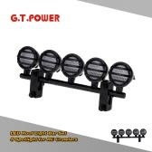 G.T.POWER LED Roof Light Bar Set 5 Spotlight for 1/10 RC Crawlers