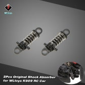 2Pcs Original WLtoys K989-43 Shock Absorber for WLtoys K969 K979 K989 K999 1/28 Scale RC Car