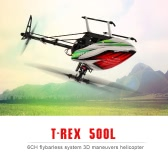 Original ALIGN T-REX 500L Dominator Super Combo Set 6CH Flybarless System RC Helicopter
