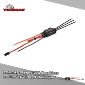 TOMCAT Skylord-20A 2-3S Li-Po Brushless ESC with 2A/5V BEC for RC Aircraft Helicopter