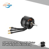 Original SURPASS High Performance 2814 1500KV 14 Poles Brushless Motor for RC Airplane Fixed-wing