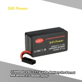 GiFi Power 2300mAh 25C 11.1V LiPo Battery for Parrot AR.Drone 2.0 Quadcopter