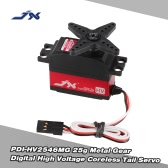 JX PDI-HV2546MG 25g Metal Gear Digital High Voltage Tail Servo for RC 450 500 Helicopter Fixed-wing Airplane