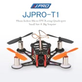 JJRC JJPRO-T1 95mm Micro FPV Racing Quadcopter Drone Based on F3 Brushed Flight Controller Frsky Receiver Compatible with Frsky Taranis X9D BNF