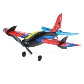 TECHBOY TB-367 2.4G 2CH Remote Control RC Airplane 280mm Wingspan EPP Mini Bull Stunt Glider Drone