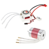 SURPASS HOBBY Platinum Set 3650 3100KV Brushless Motor with 45A ESC Waterproof for 1/10 RC Car Truck
