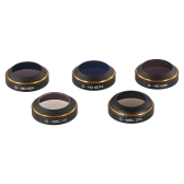 PGYTECH Camera Lens Filter Set MRC-UV ND4 ND8 ND16 CPL HD Lens for DJI MAVIC FPV Quadcopter Drone