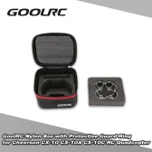 GoolRC Nylon Box with Protective Guard Ring for Cheerson CX-10 CX-10A CX-10C RC Quadcopter