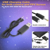 USB Charging Cable for Syma X5C X5SC Quadcopter C4001 Camera and FPV Screen
