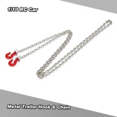 Metal Trailer Hook & Chain for 1/10 D90 Axial SCX10 RC Rock Crawler