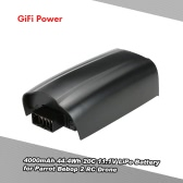 GiFi Power 4000mAh 44.4Wh 20C 11.1V LiPo Battery for Parrot Bebop 2 RC Drone