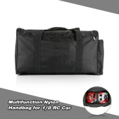 1/8 RC Car Handbag Multifunction Carrying Storage Bag for Redcat 1/8 Rock Crawler Monster Truck Off-road Buggy Flat Drifting Cars