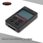 Dynam DETRUM 3-in-1 Program Card for Istone DSM Flight Stabilizer 2-8s Lipo Battery Skylord Advanced Volcano Series ESC
