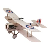 Royal Aircraft Factory SE5a Balsa Wood 378mm Wingspan Biplane Warbird Aircraft Model Light Wood Airplane Kit