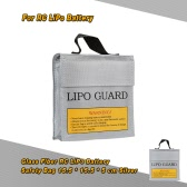15.5 * 15.5 * 5cm Silver High Quality Glass Fiber RC LiPo Battery Safety Bag Safe Guard Charge Sack