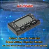 G.T.POWER Battery Capacity Controller Digital Battery Capacity Checker for 2-7S LiPo/Li-ion/Li-Mn/Li-Fe/NiCd Battery