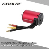 GoolRC S3650 4300KV Sensorless Brushless Motor for 1/10 RC Car