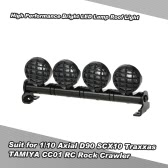 High Performance Bright LED Lamp Roof Light Search Light for 1/10 HSP TAMIYA RC4WD Axial D90 SCX10 Traxxas TAMIYA CC01 RC Rock Crawler