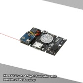 Naze32 Brush Flight Controller Built-in Receiver 33mm * 20mm for Q100 X100 DIY Micro FPV Racing Quadcopter