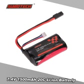 Original SUBOTECH 7.4V 1500mAh 20C Li-ion Battery for SUBOTECH BG1506 BG1507 BG1513 RC Car