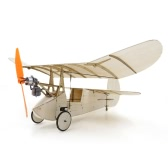 Newton Flea Balsa Wood 358mm Wingspan Plane Warbird Aircraft Model Light Wood Airplane Kit