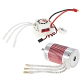 SURPASS HOBBY Platinum Set 3660 3300KV Brushless Motor with 60A ESC Waterproof for 1/10 RC Car Truck