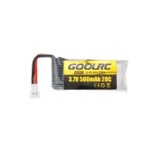 4pcs GoolRC 3.7V 500mAh 20C Li-po Battery with 4 in 1 U4 Fast Smart Charger for GoolRC T33 JJR/C H43WH Drone Quadcopter