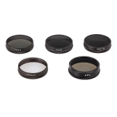 PGYTECH Camera Lens Filter set MC-UV ND4 ND8 ND16 CPL HD Lens with PU Bag for DJI Phantom 3 4 Quadcopter Drone