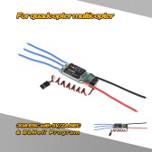 30A Brushless ESC Electronic Speed Controller with 5V/2A BEC & BLHeli Program for DIY 450 550 RC Quadcopter Multicopter
