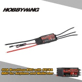 Original Hobbywing SKYWALKER 80A 2~6S Brushless ESC Electronic Speed Controller with 5V/5A BEC Program for Airplane