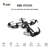 Original Yizhan iDrone i4s 2.4G 4CH 6-Axis Gyro 2MP Camera RTF RC Quadcopter with 3D-flip CF Mode One-key Return Function