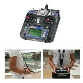 Original GoolRC GC6 2.4G 6CH AFHDS2A Transmitter Mode 2 and GC-6 6CH Receiver for RC Helicopter Multicopter Fixed-wing
