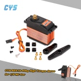 Original CYS-S8218 40kg Metal Gear Digital 6V-7.4V 0.18s-0.20s/60° High Torque HV Servo for 1/5 RC Car