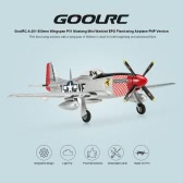 Original GoolRC A-201 800mm Wingspan P51 Mustang Warbird EPO Fixed-wing Airplane PNP Version RC Airplane (with ESC, Motor, Servo )