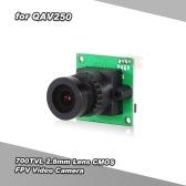 700TVL 2.8mm Lens CMOS FPV Video Camera PAL Format for QAV250 210 Racer 250 Racing Drone