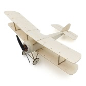 Sopwith Pup Balsa Wood 378mm Wingspan Biplane Warbird Aircraft Model Light Wood Airplane Kit