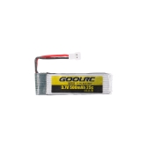 4pcs GoolRC 3.7V 500mah 25C Li-po Battery with 4 in 1 USB Battery Charger for GoolRC T37 JJR/C H37 Drone Quadcopter