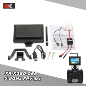 XK Upgraded Parts X380-055 5.8GHz AV TX/RX FPV Sets for XK X380 RC Quadcopter