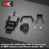 Original XK X250-027 Wifi FPV 0.3MP Camera Components for XK X250 RC Quadcopter