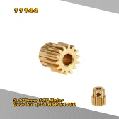 11144 3.175mm 14T Motor Gear for 1/10 HSP 94180 4WD Rock Crawler RC Car