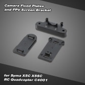 Camera Fixed Plates and FPV Screen Bracket for Syma X5C X5SC RC Quadcopter C4001 Kit